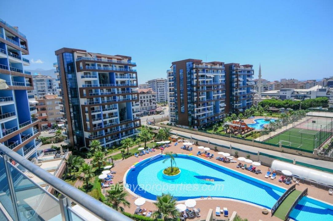 Chrystal Park – Exclusive 1+0 fully furnished Studio Apartment for sale in Alanya