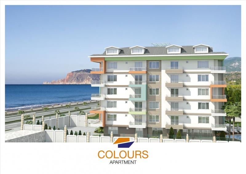Colours Apartment Kestel Alanya - Beautiful and Colourful Life