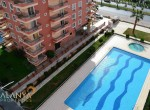 ALDEN RESIDNCE Fully furnished 2+1 apartment for sale in Mahmutlar Alanya, wohnungen zu verkaufen in Alanya (12) - Copy
