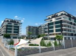 modern new apartments for sale in kargicak, alanya, wohnungen zu verkaufen in alanya (1) - Kopya