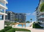 modern new apartments for sale in kargicak, alanya, wohnungen zu verkaufen in alanya (11)