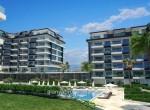 modern new apartments for sale in kargicak, alanya, wohnungen zu verkaufen in alanya (16)