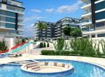 modern new apartments for sale in kargicak, alanya, wohnungen zu verkaufen in alanya (17)