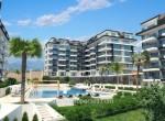 modern new apartments for sale in kargicak, alanya, wohnungen zu verkaufen in alanya (2) - Kopya