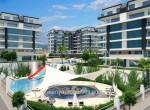 modern new apartments for sale in kargicak, alanya, wohnungen zu verkaufen in alanya (20)