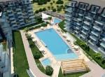 modern new apartments for sale in kargicak, alanya, wohnungen zu verkaufen in alanya (22)