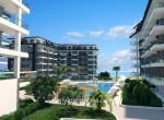 modern new apartments for sale in kargicak, alanya, wohnungen zu verkaufen in alanya (28)
