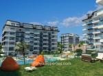 modern new apartments for sale in kargicak, alanya, wohnungen zu verkaufen in alanya (3) - Kopya