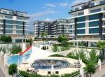 modern new apartments for sale in kargicak, alanya, wohnungen zu verkaufen in alanya (4)