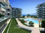 modern new apartments for sale in kargicak, alanya, wohnungen zu verkaufen in alanya (5) - Kopya
