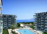 modern new apartments for sale in kargicak, alanya, wohnungen zu verkaufen in alanya (8) - Kopya