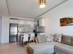 Modern 1+1 apartment for rent in Emerald Park, Avsallar, Alanya, moderne 1+1 wohnung zu vermieten in Emerald Park (1)