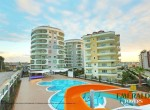 New modern 1+1 apartment for rent in Avsallar, Emerald Towers, wohnungen zu vermieten in alanya, immobilien in alanya (1)