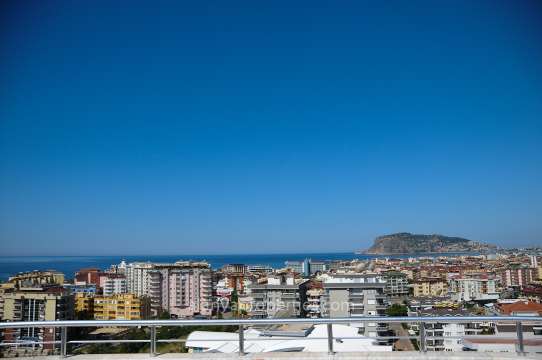Mooi duplex penthouse 4 slaapkamers - te koop Prestige Residence - Tosmur, Alanya