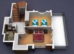 Villa Dubleks Kat (Perspektif)