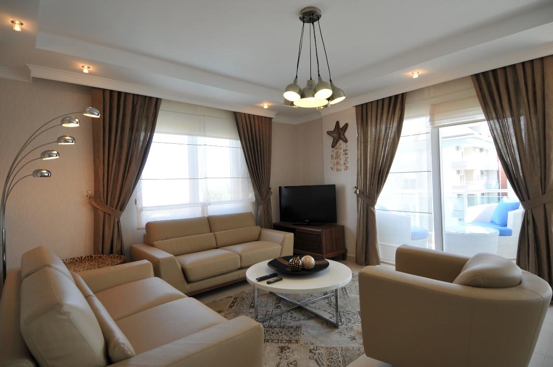 Luxe Appartement - 3 slaapkamers te Huur  in Turkuaz Residence, Kestel, Alanya