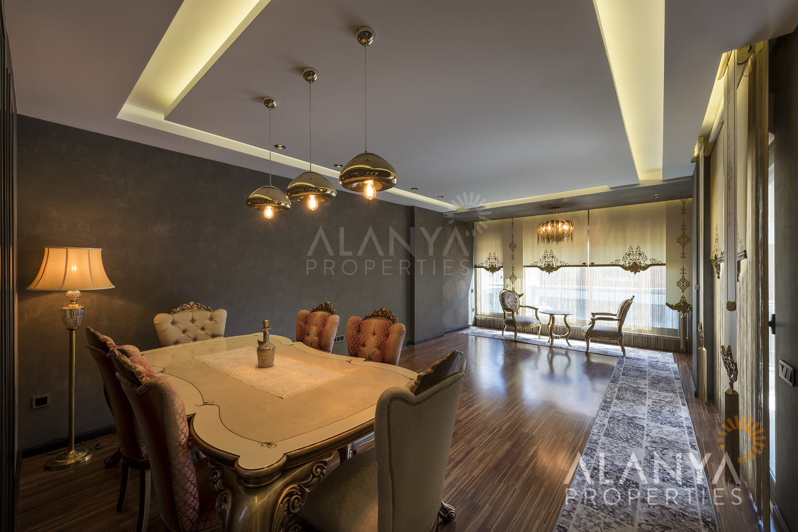 Appartementen uitgerust met domotica te koop in Alanya, adembenemend uitzicht