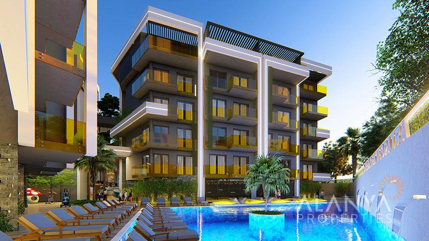 Appartementen in het hart van Alanya Centrum