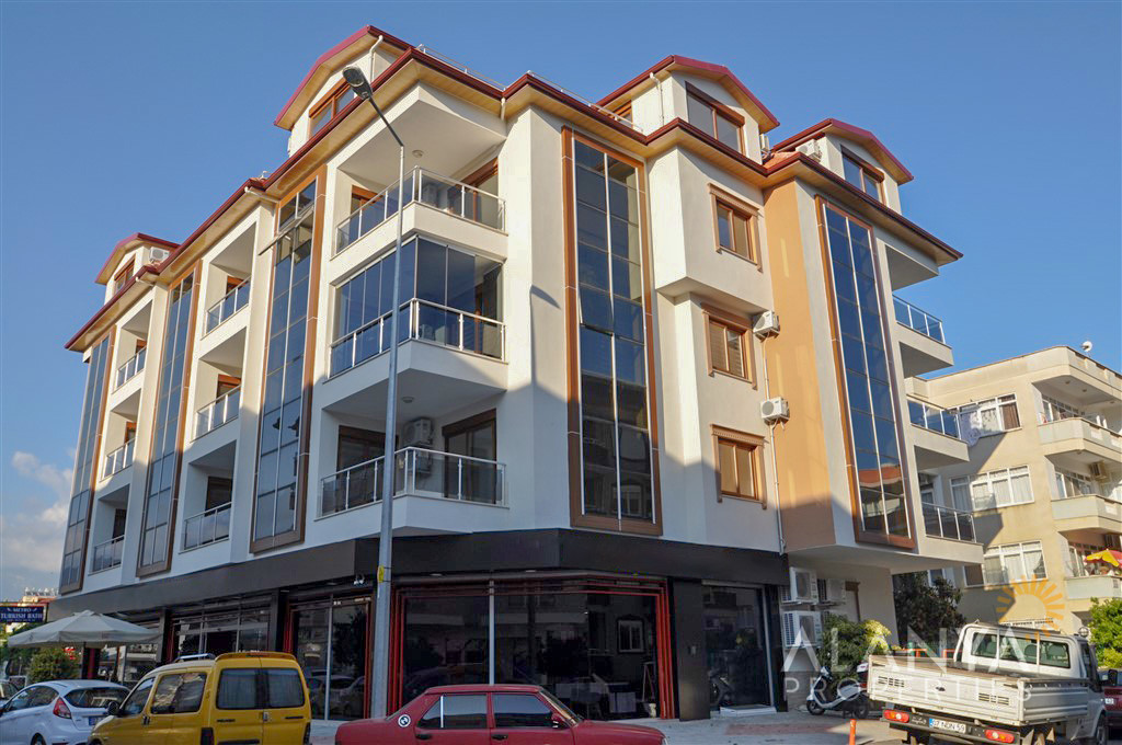 Appartement met 1 slaapkamer te koop in Oba, Alanya
