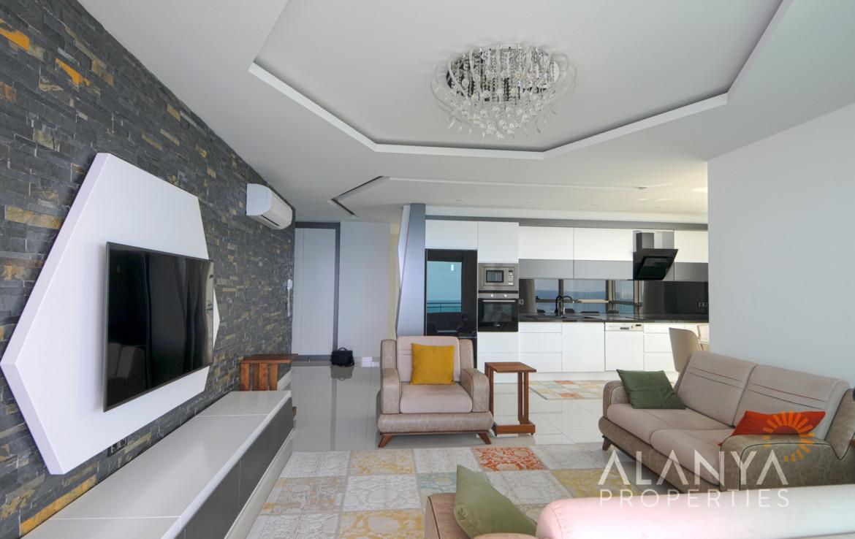 2 Schlafzimmer Luxus-Wohnung, komplett möbiliert mit ...