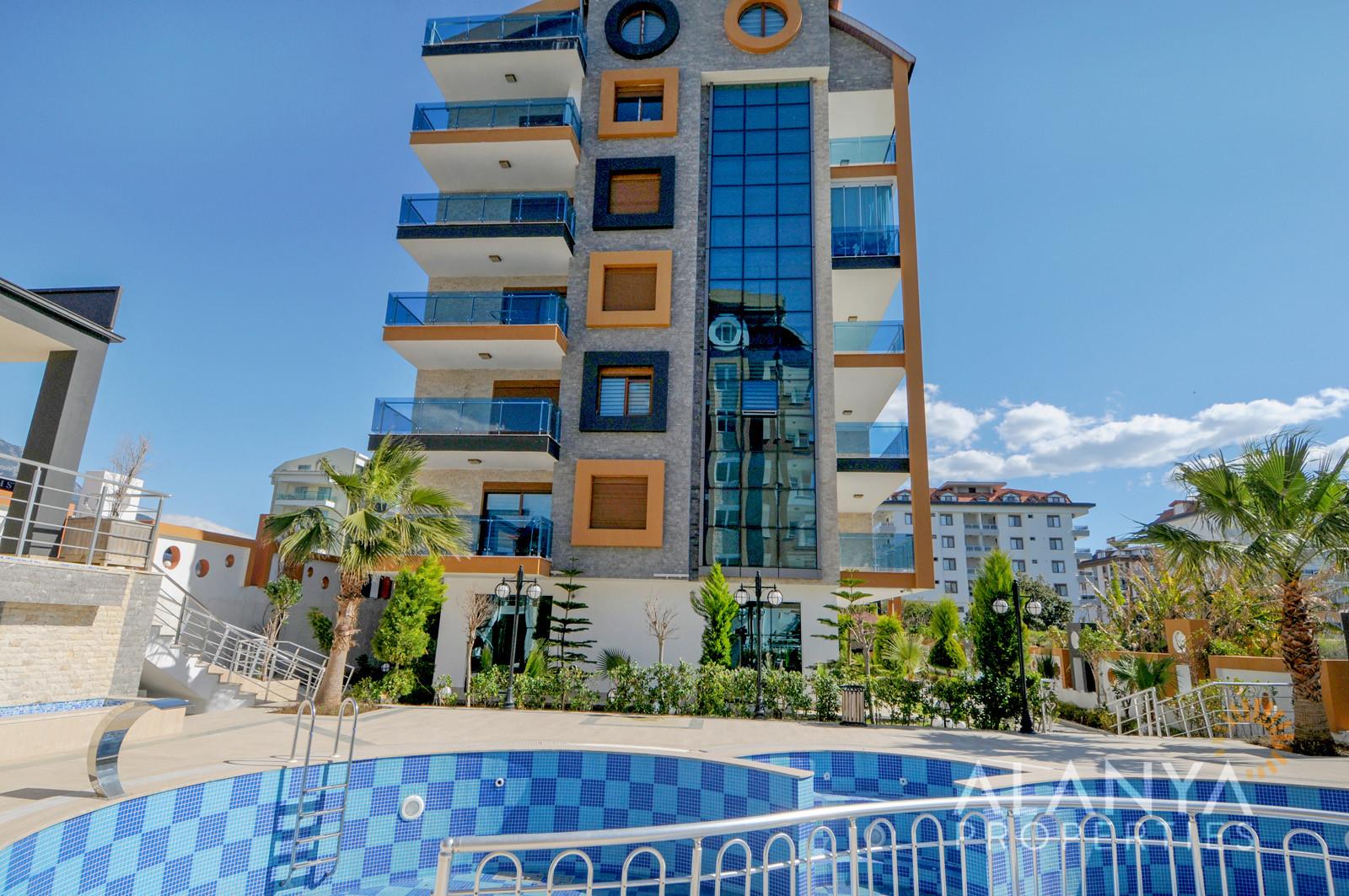 2 Slaapkamer appartement te koop - 300 m van het strand in Kestel, Alanya