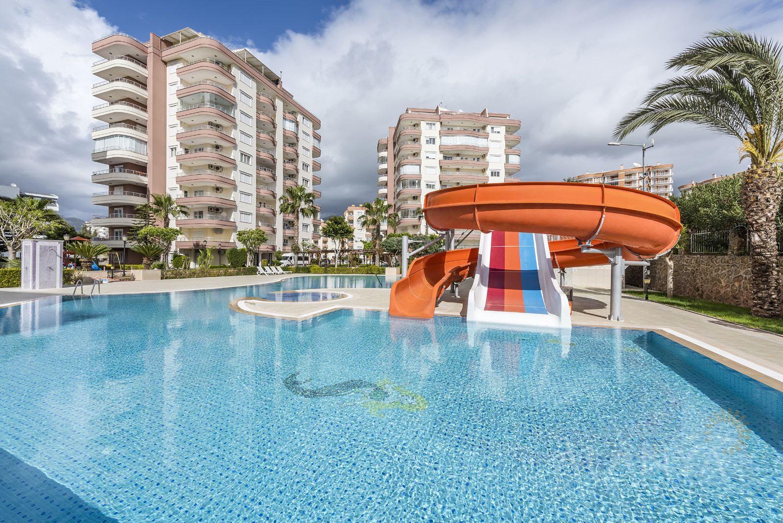 Prestige Residence - 3 bedrooms apartment for sale in Tosmur, Alanya