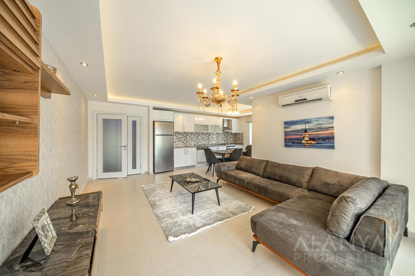 Emerald Park - volledig gemeubileerd appartement 2 slaapkamers in Avsallar, Alanya