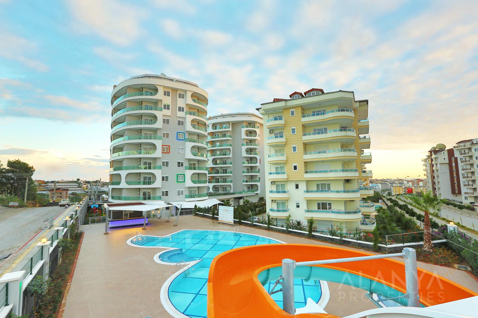 Emerald Towers – volledig gemeubeld appartement te koop in Avsallar, Alanya