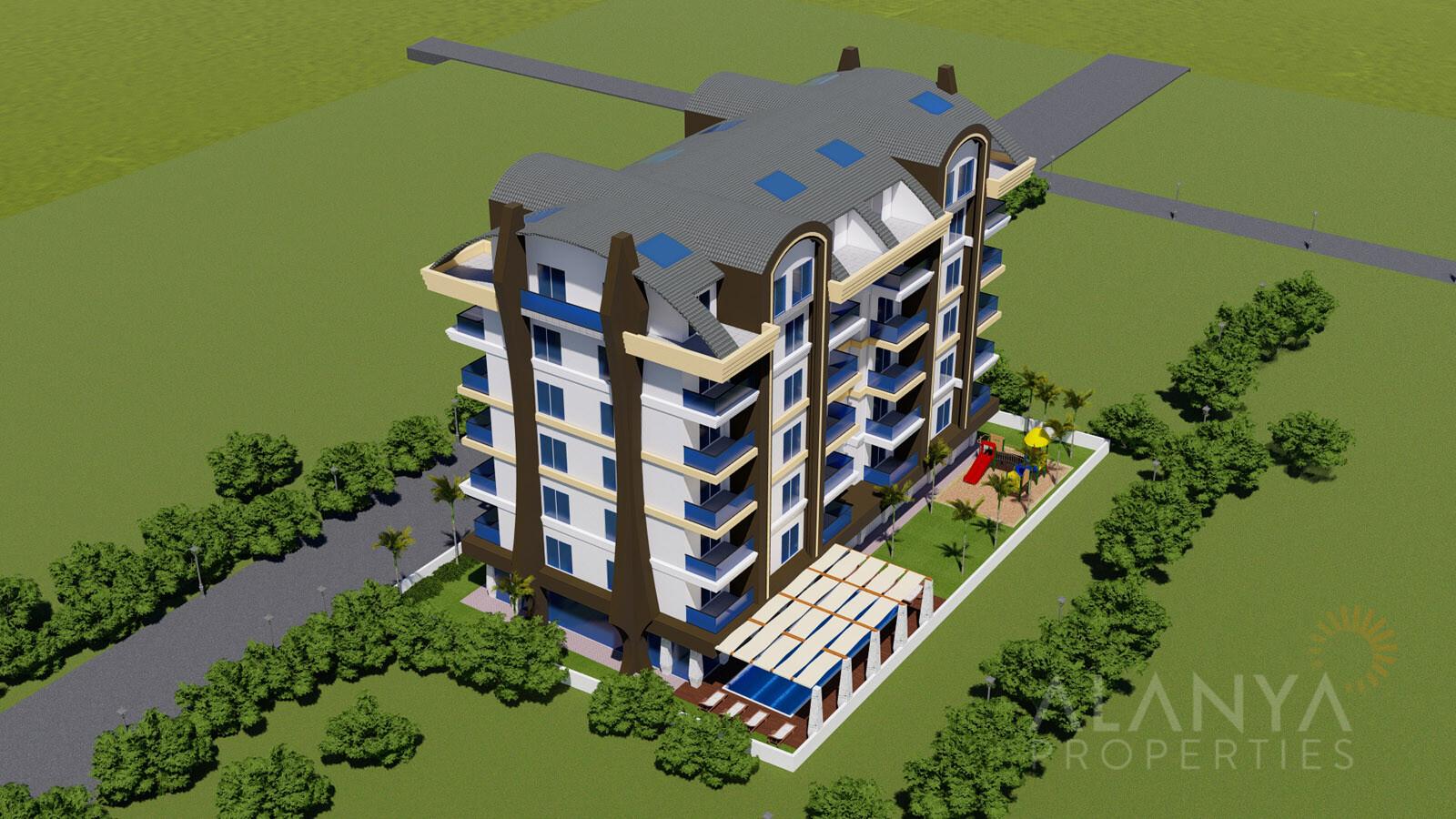 Luxe Appartementen te koop aan voordelige prijzen in Mahmutlar, Alanya