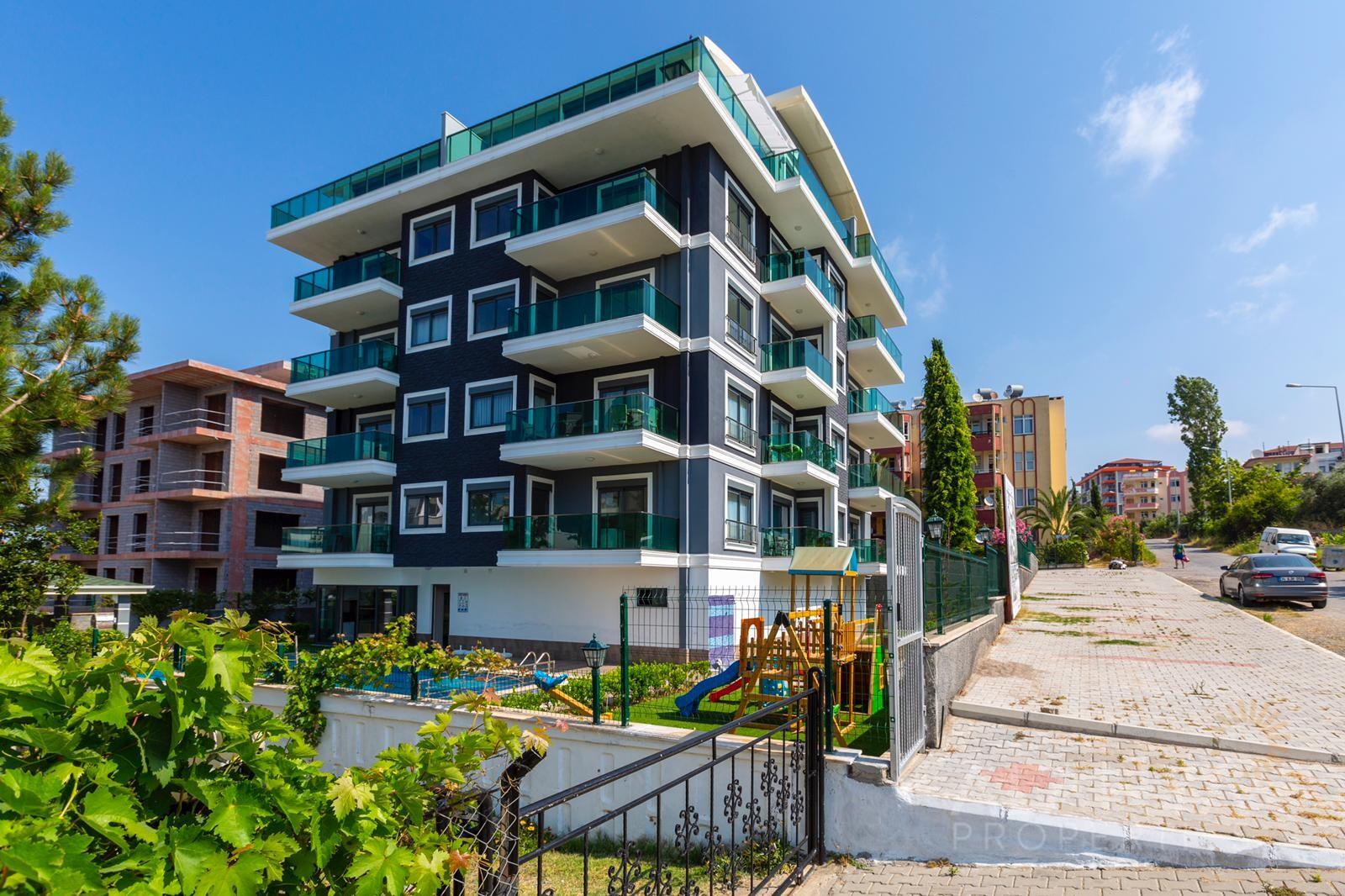 Charmant appartement - volledig gemeubileerd 350 m van het strand in Avsallar, Alanya