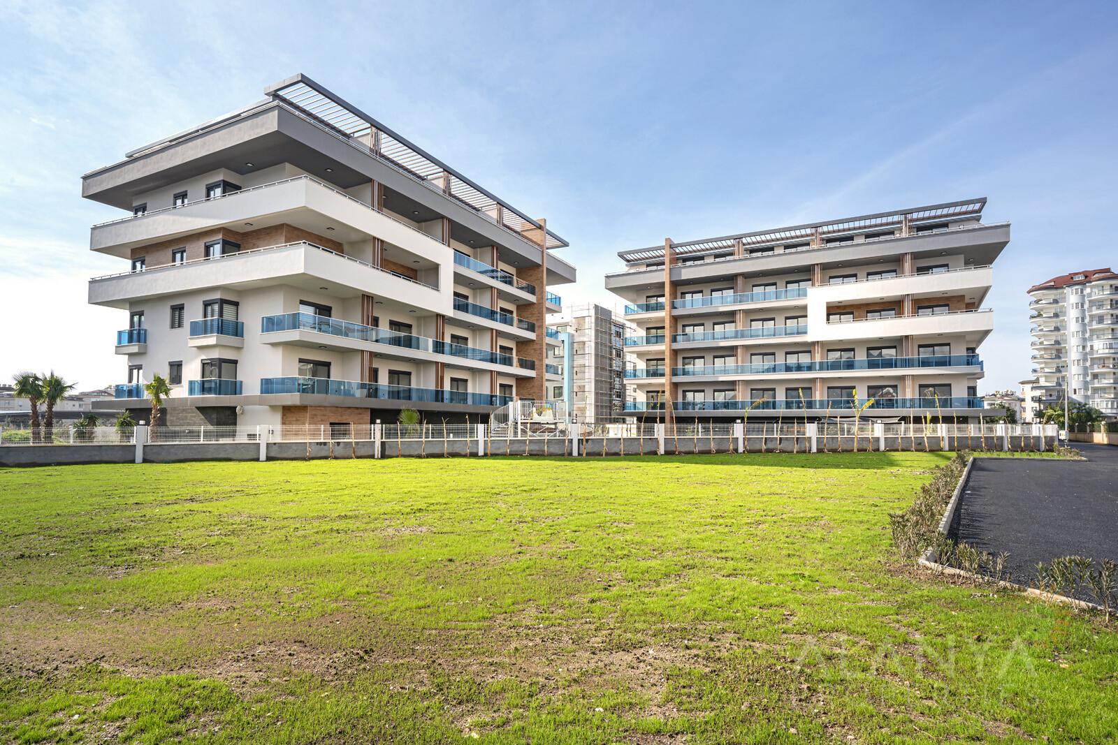 Schitterend Appartement in een Kleinschalige Standingvolle Residentie in Oba, Alanya