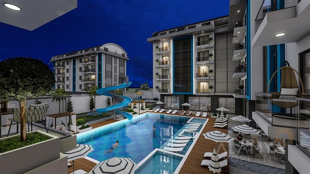 Nieuw Luxe Complex in Oba, Alanya