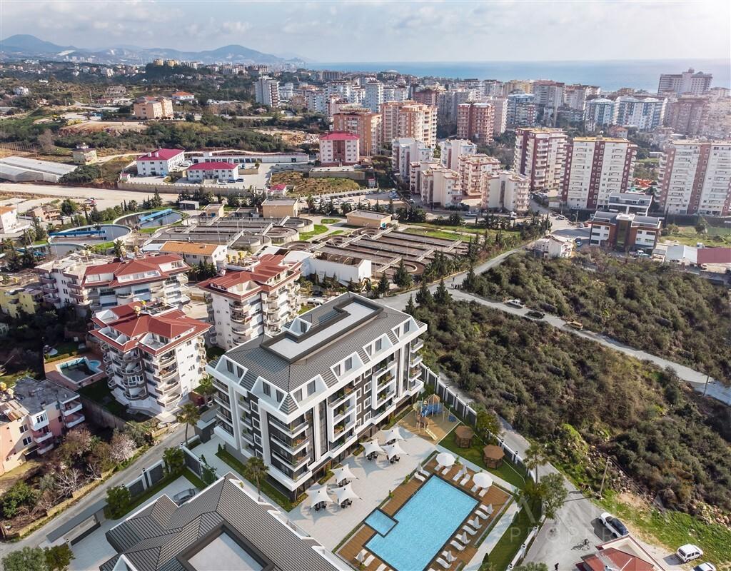 Alanya Oba'da satılık yeni daireler