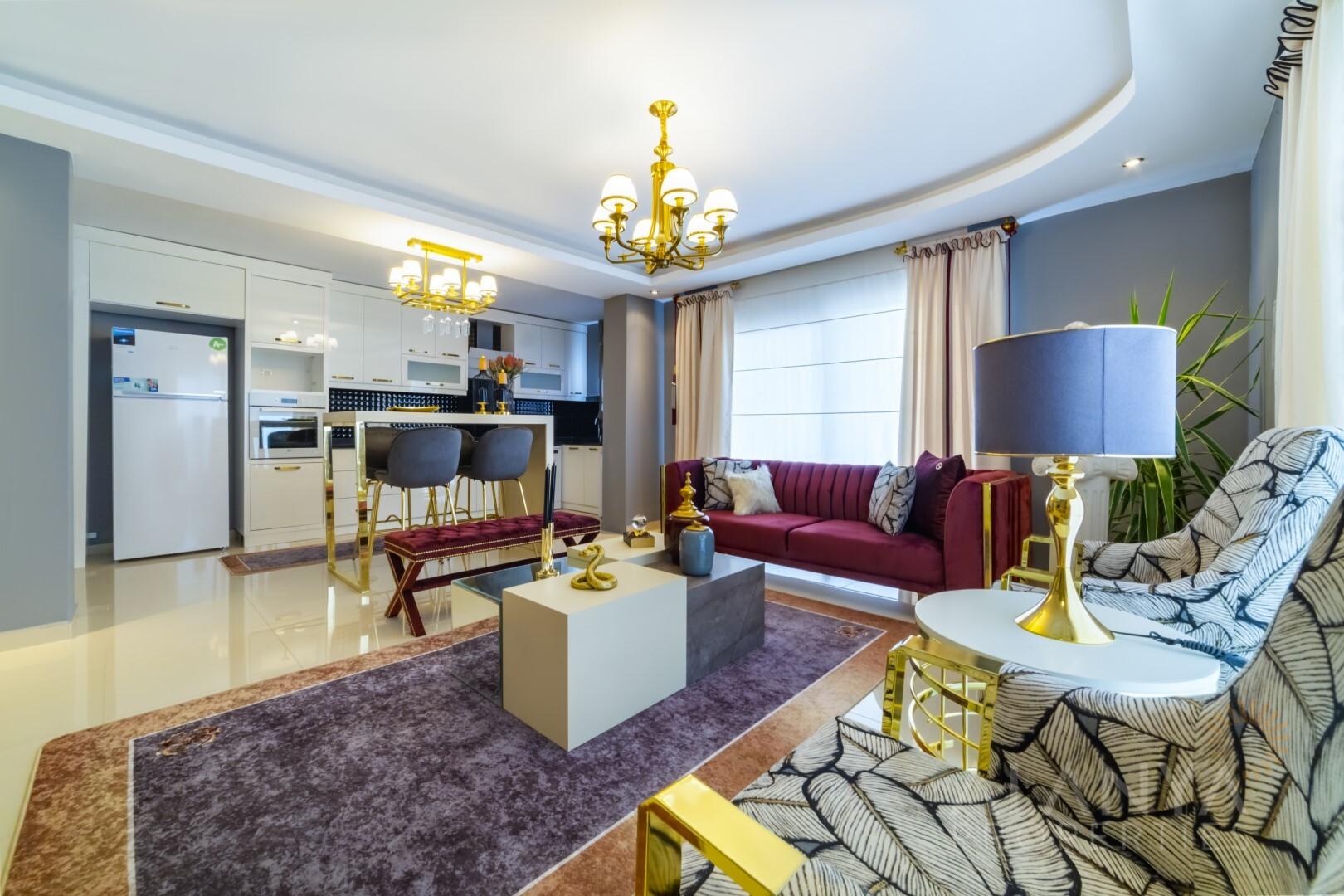 Knap Instapklaar Appartement in Mahmutlar