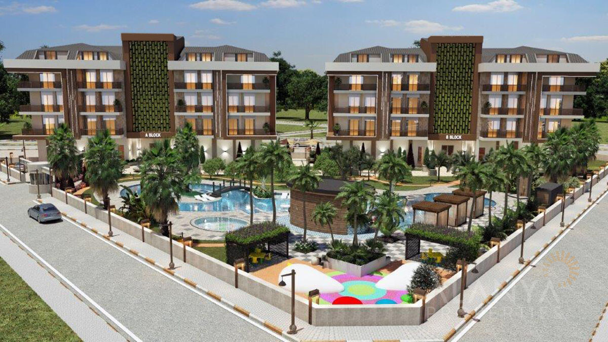 Appartementen in Super Modern Project in Oba/Alanya