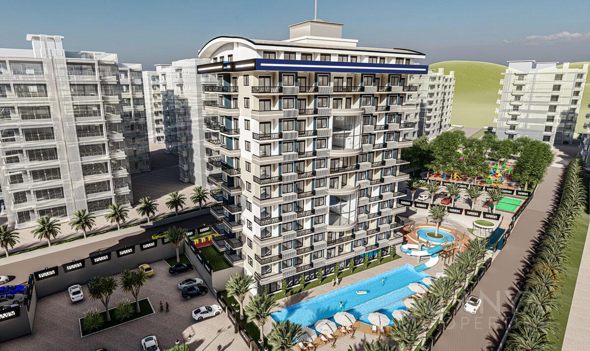 Appartements de Luxe Vue Panoramique à Avsallar / Alanya