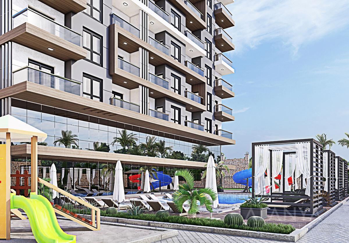 Nouveau Complexe Familial à Tosmur / Alanya