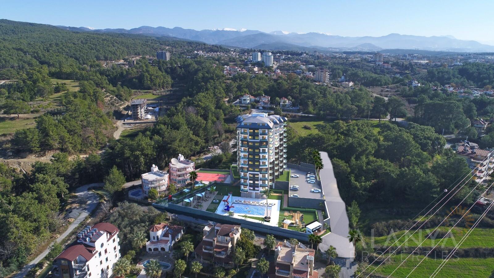 Appartements à vendre dans un Nouveau Complexe à Avsallar / Alanya
