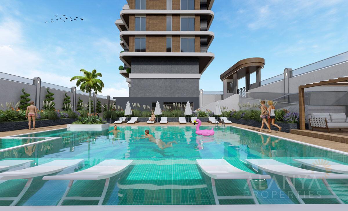 Nouveaux Appartements en Bord de Mer à Kestel / Alanya