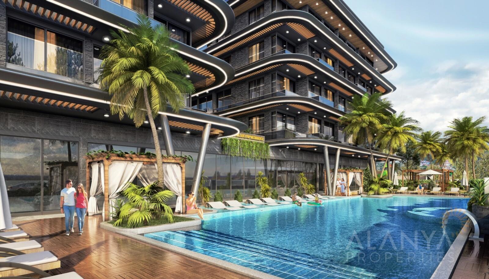 Nouveaux Appartements Quartier Prestigieux à Alanya