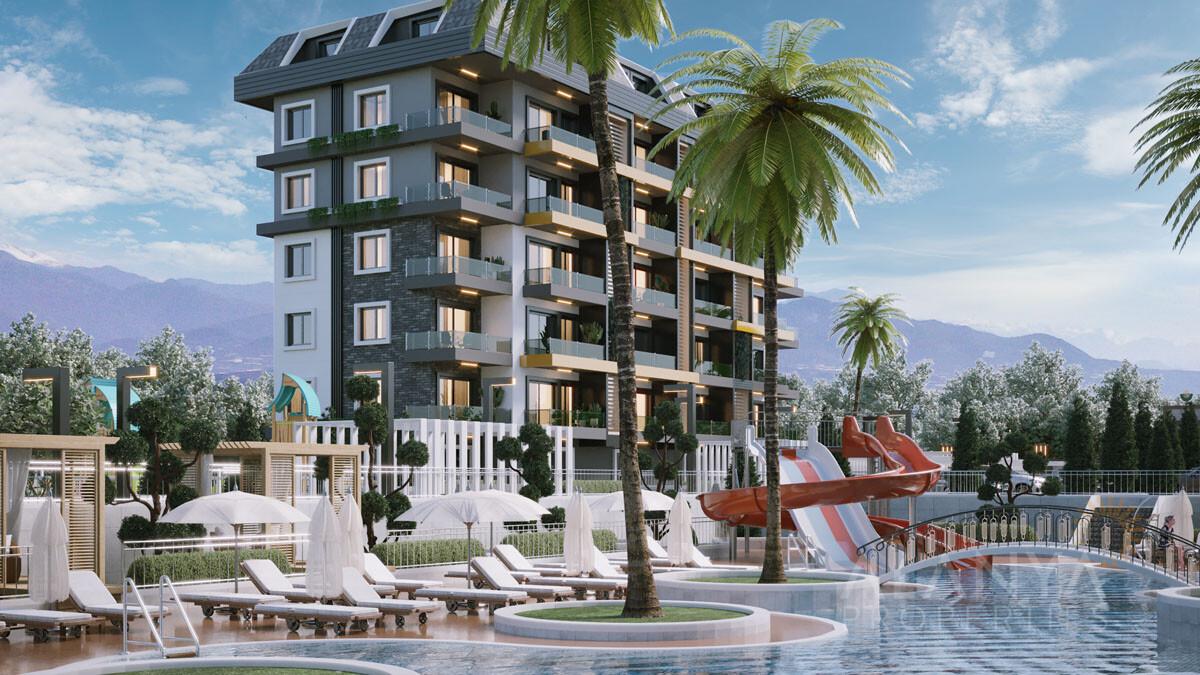 Appartementen voor een Ontspannen Vakantie in Avsallar