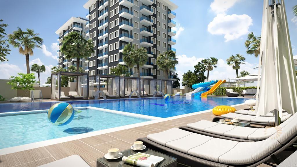 Nouveaux Appartements Centre Mahmutlar / Alanya