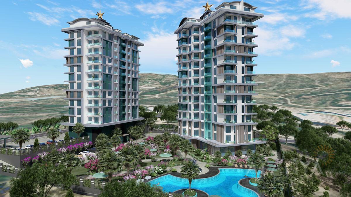 Appartementen Zee- en Natuurzicht in Mahmutlar / Alanya