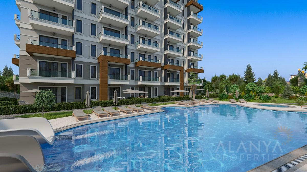 Nouveaux Appartements à Demirtas / Alanya