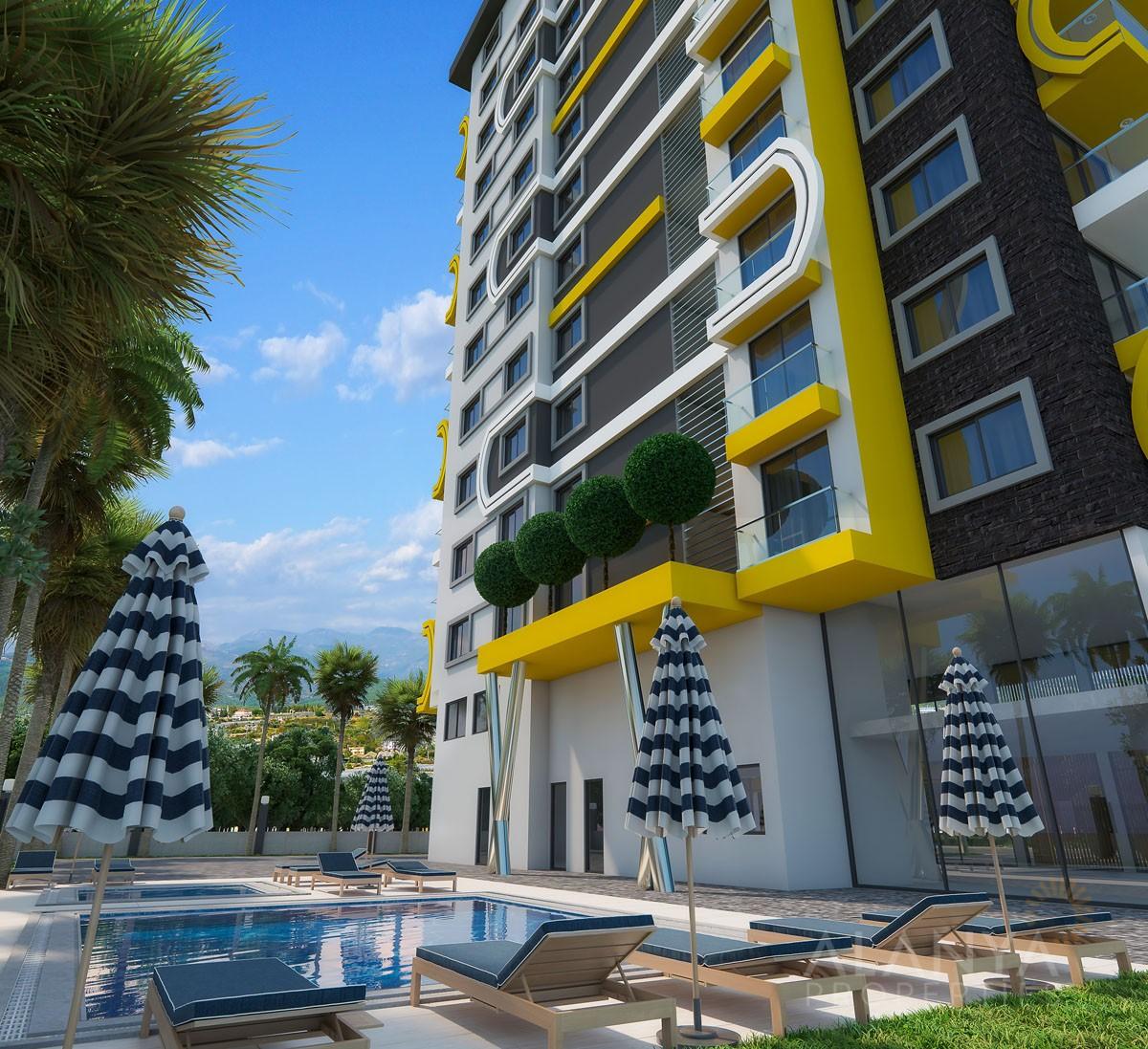 Nouveaux Appartements à Mahmutlar / Alanya