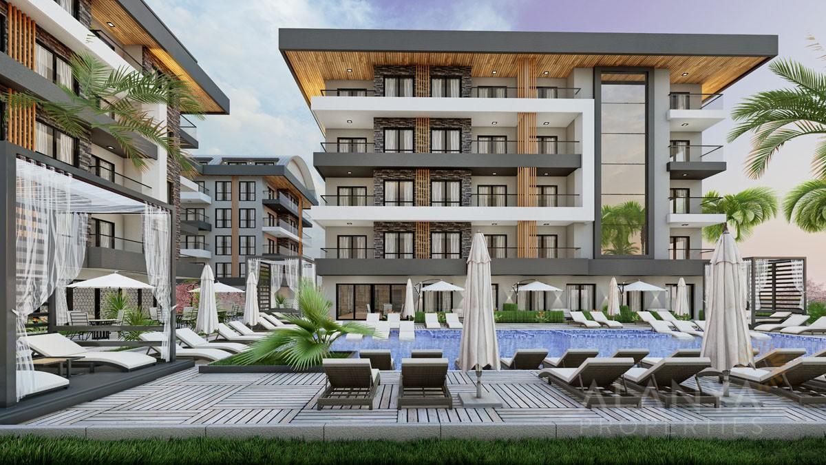 Nouveaux Appartements Prix Attractifs à Oba / Alanya