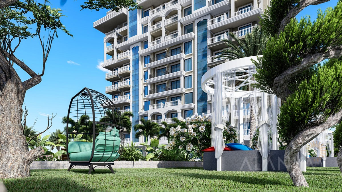 Nouveau Complex Résidentiel à Avsallar / Alanya