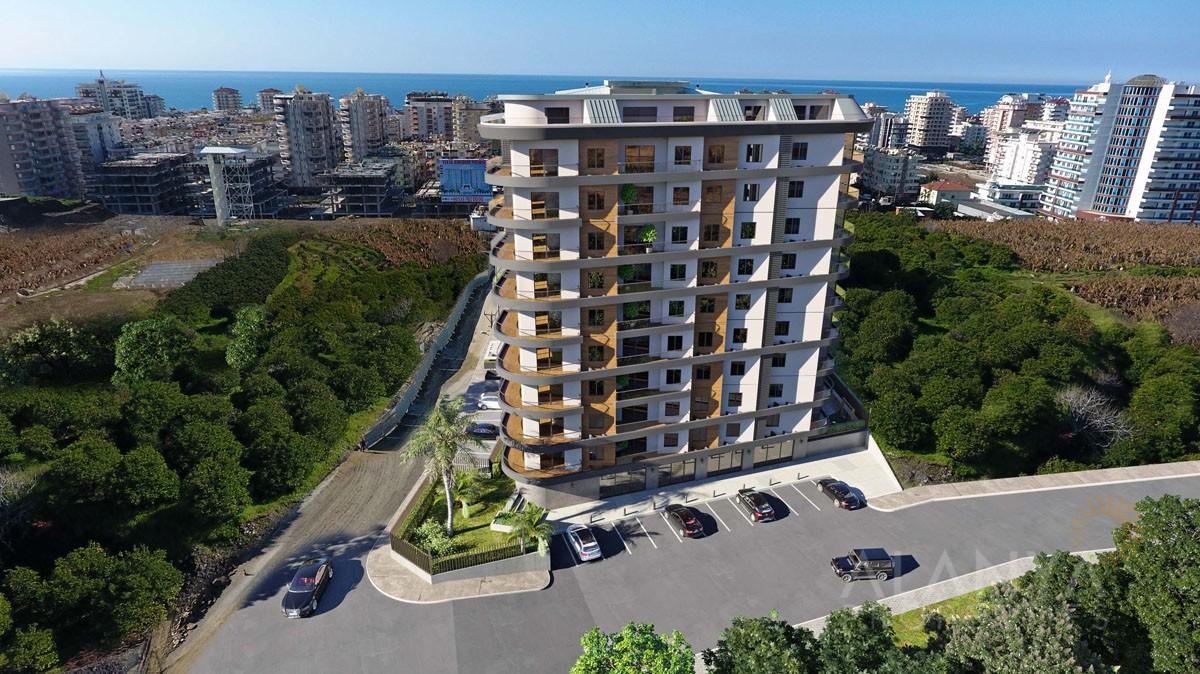Nouveau Complexe à Courte Distance de la Mer à Mahmutlar